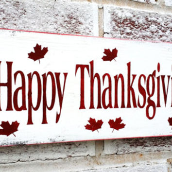 Happy Thanksgiving sign, Fall decorations, Autumn, Thanksgiving decorations, Thanksgiving Welcome sign, Thanksgiving dinner decorations