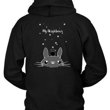 DCCKG72 Pusheen My Neighbour Hoodie Two Sided