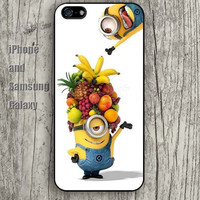 Funny cartoon and fruit iphone 6 6 plus iPhone 5 5S 5C case Samsung S3, S4,S5 case, Ipod touch Silicone Rubber Case, Phone cover