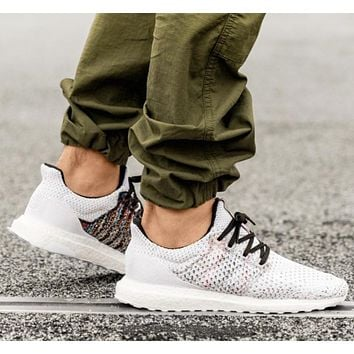 Adidas Ultraboost x Missoni New fashion couple running mesh knit shoes