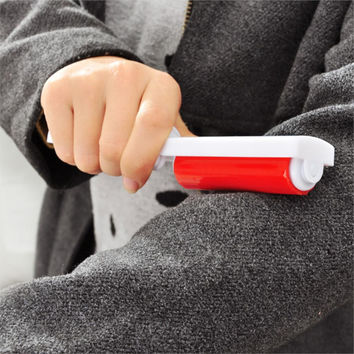 Reusable Hair Roller Sticky Device Clothing Shoes Dust Collector Lint Rollers Clothes Dusting Brush Brush Dust Cleaning