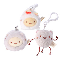 Sumikkogurashi Cat Blanket Sleepers Key Ring (4.5cm)