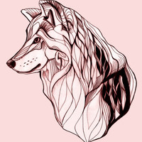 Wolf Art Print by Kathryn Repas | Society6