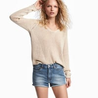 H&M Loose-knit Sweater $17.99