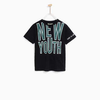 SPORTY 'NEW YOUTH' T-SHIRT