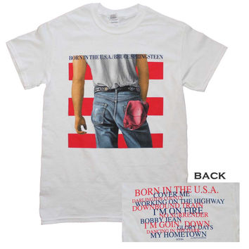 Bruce Springsteen Born in the U.S.A. T Shirt
