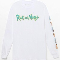 LMFON Rick And Morty Long Sleeve T-Shirt
