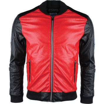 GVDM Leather Biker jacket