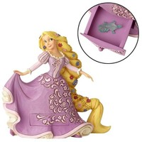 Disney Traditions Tangled Rapunzel with Pascal Charm Statue - Enesco - Tangled - Statues at Entertainment Earth