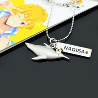 Iwatobi Swim Club Nagisa Penguin Crown Necklace Pendant