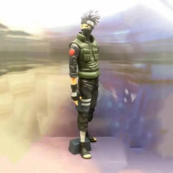 Naruto Sasauke ninja  Kakashi Big Size Ver. Action Figure 1/6 scale painted figure Two Head Ver. Hatake Kakashi PVC figure Toy Brinquedos Anime AT_81_8