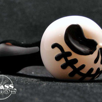 Jack Skellington Inspired Glass Pipe