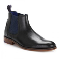 Ted Baker Mens Black Camroon 2 Chelsea Boots