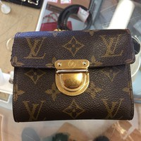 Louis Vuitton buckle Wallet rare