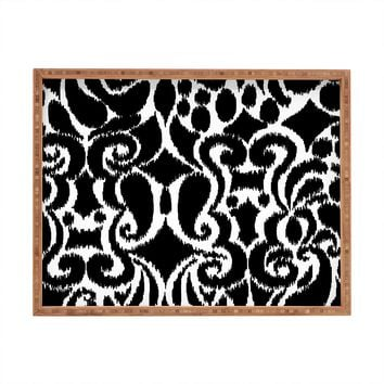 Khristian A Howell BW Eloise Rectangular Tray
