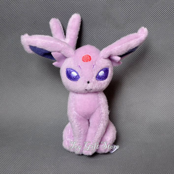 Free Shipping Pokemon Espeon Plush Doll Stuffed Toy 5""
