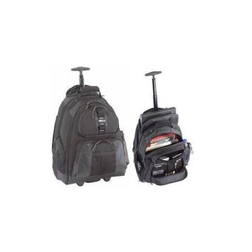 Rolling Notebook Backpack Blk