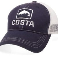 Costa Del Mar - Trout Trucker Hat - Navy / White - Extra Large