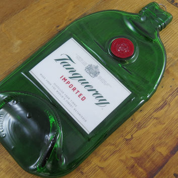 Tanqueray Gin Bottle Cheese Tray