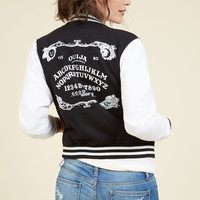 Spell It Like It Is Jacket | Mod Retro Vintage Jackets | ModCloth.com