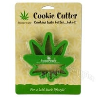 Marijuana Leaf Cookie Cutter @ RastaEmpire.com