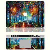 Love in the Rainy Night -- Macbook Protective Decals Stickers Mac Cover Skins Vinyl Case for Apple Laptop Macbook Pro/Macbook Air/iPad
