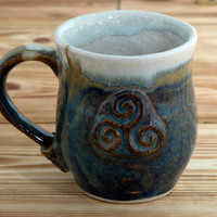 Handmade Ceramic Mug Made In Ireland Pottery Cup Ceramic Coffe Mug Pottery Mug Handmade Mug Tea Mug Bragan Range Celtic Mug Coffee Cup Mugs