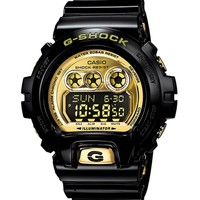 G-Shock GDX6900FB-1 XL Gloss Black & Gold Watch