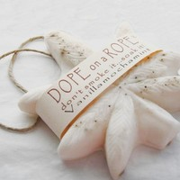 Dope on a Rope Soap - Vanilla Mocha Mint Hemp Soap on a Rope - Greatest Stocking Stuffer - Birthday Gift