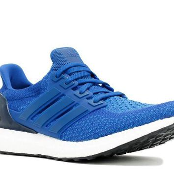 Ready Stock Adidas Ultra Boost Navy Blue White Shoes Sport Running Shoes