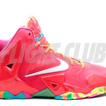 "lebron 11 (gs) ""fruity pebbles"" - lsr crmsn/white-pnk fl-ttl ogn - Lebron James - Nike Basketball - Nike 