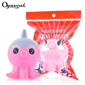 Oyuncak Squishy Unicorn Antistress Novelty Gag Toys Squishe Fun Stress Relief Anti-stress Gags Practical Jokes Squeeze Octopus