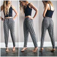 A Diamond Harem Pant