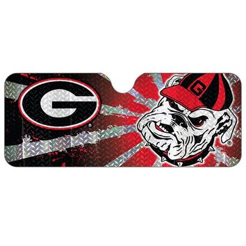 Georgia Bulldogs Auto Sunshade (Uga Team)