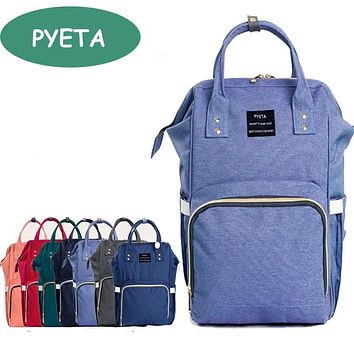 PYETA Maternity Large Capacity Baby Diaper Bag