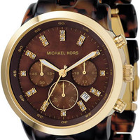 Michael Kors Marbled Resin Link Bracelet MK5216 Watch