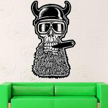 Wall Sticker Vinyl Decal Biker Motorcycle Helmet Garage Decor Unique Gift (ig2155)