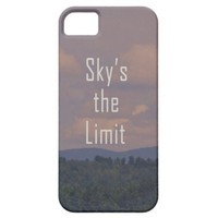 iPhone5 Case ...Sky's The Limit from Zazzle.com