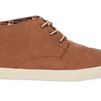 Brown Synthetic Leather Men's Paseo Mids