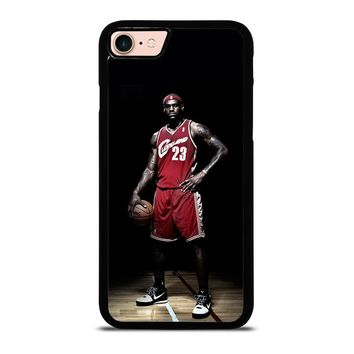 LEBRON JAMES CLEVELAND iPhone 8 Case Cover