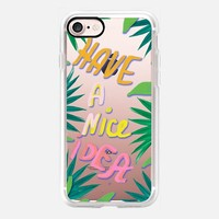 Have a nice Idea tropical iPhone 7 Case by Vasare Nar | Casetify