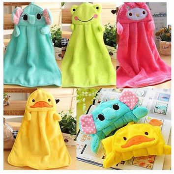 Baby Hand Towel  Cartoon Animal Shapes