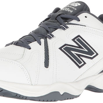 New Balance Men's 608v4 Comfort Pack Training Cross-Trainer Shoe White/Outerspace 16 4E US '