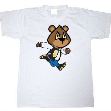 Eyes on My Kicks Clothing Bear Jumps Thunder 14's White Tee