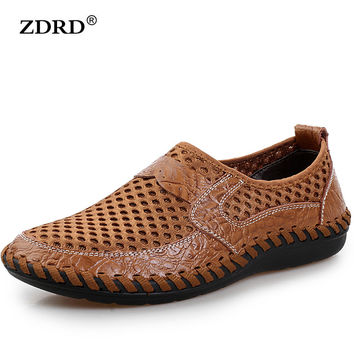 Genuine Leather Casual Men's Shoes