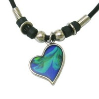Mood Pendant Necklace - Heart