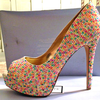 Candy Coated Inspired Heels- Full Coverage
