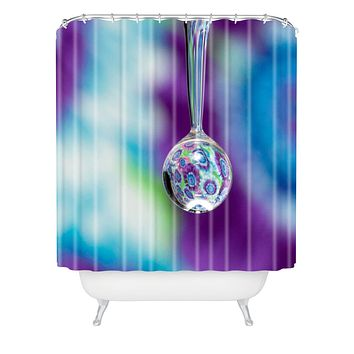Barbara Sherman Tie Dye Shower Curtain
