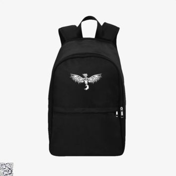 Tribal Phoenix With Eye Wings, Tribal Style Backpack