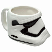Star Wars: The Force Awakens Stormtrooper 15 oz. Ceramic Coffee Cup
